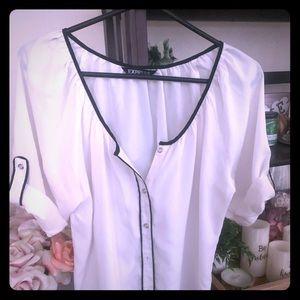 Express cream blouse